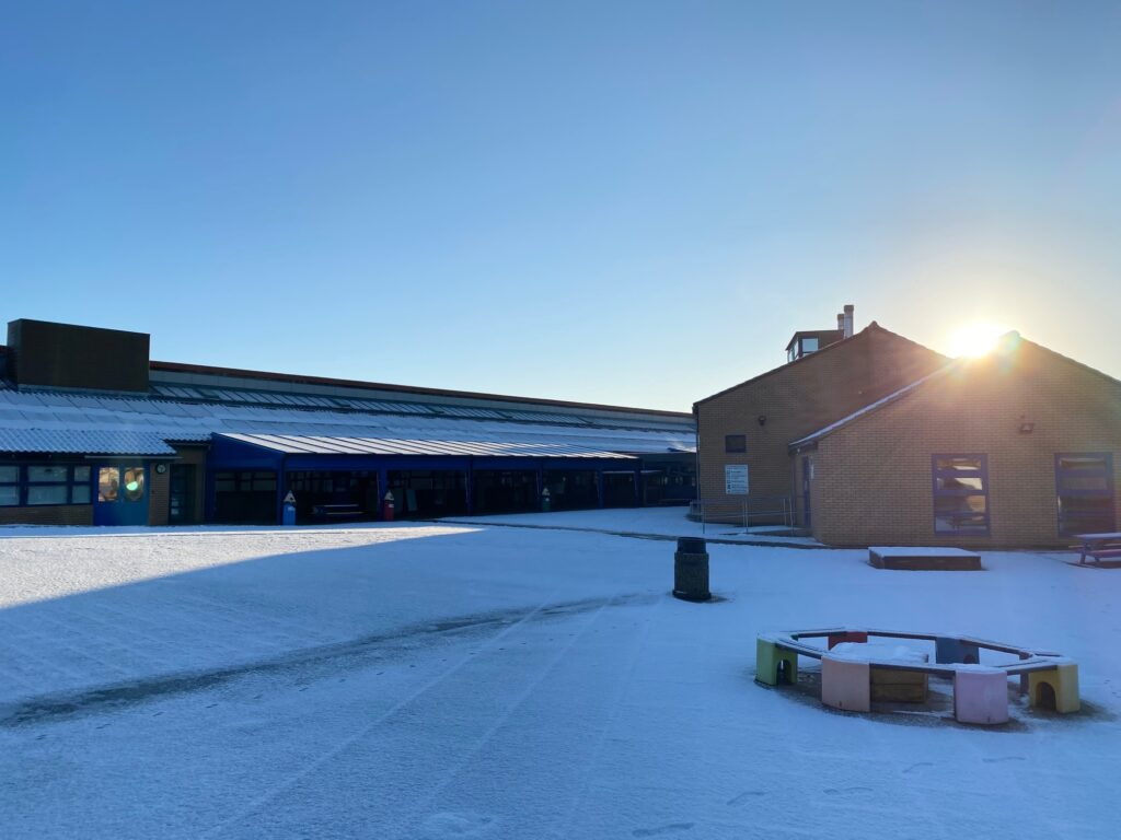 Heronshaw on a stunning January morning